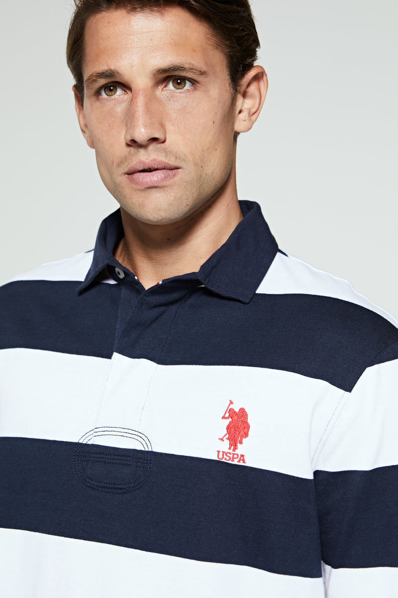 U.S. Polo Assn. Traditional Stripe Rugby Top