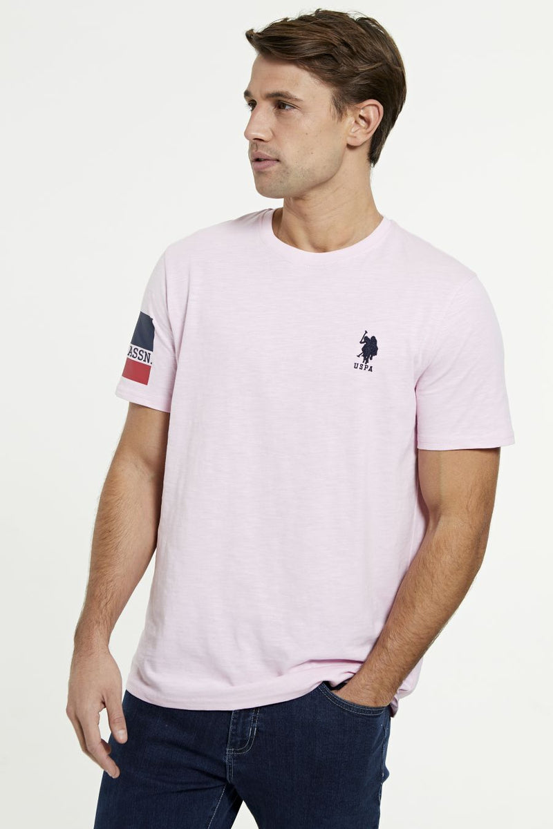 U.S. Polo Assn. banded Sleeve T-shirt