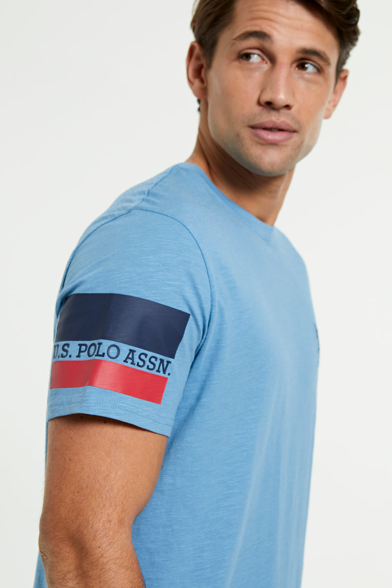 U.S. Polo Assn. branded Sleeve T-Shirt