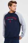 U.S. Polo Assn. Applique Crew Shirtsweat