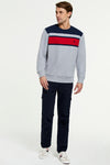 U.S. Polo Assn. Engineered Colour Block Crew Sweatshirt