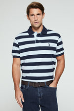 U.S. Polo Assn. Stripe Relaxed Fit Polo Shirt