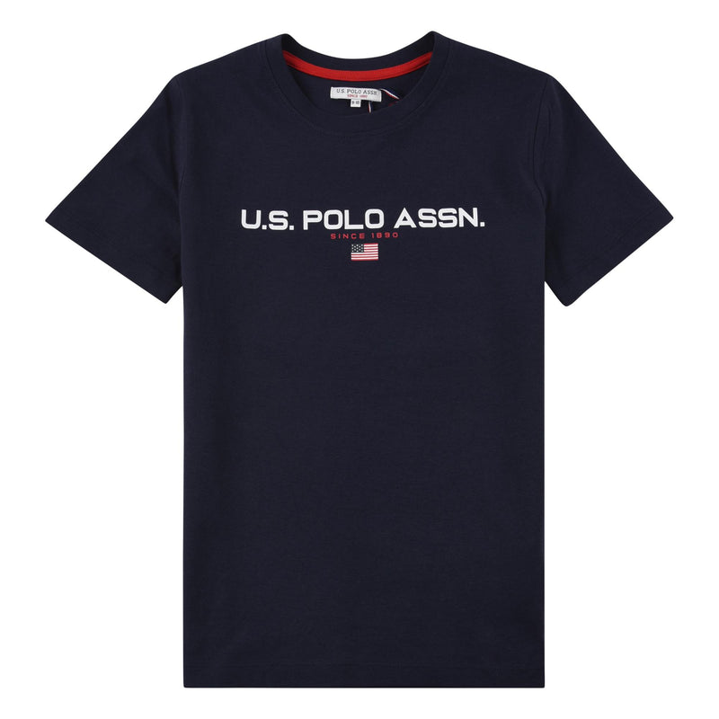 U.S. Polo Assn. Block Flag Graphic T-shirt