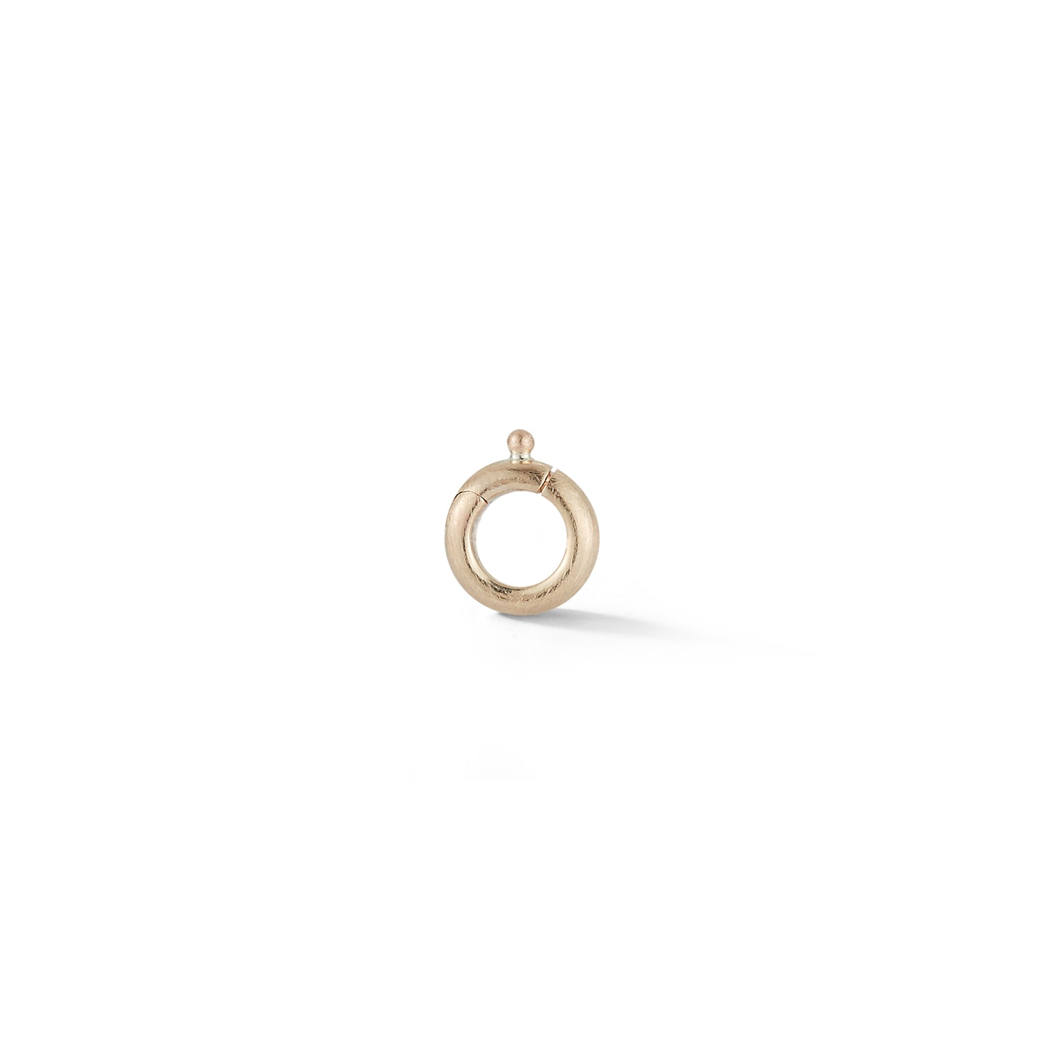 14K Gold Circle Clip Bail
