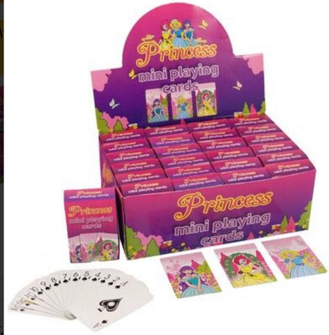 Princess Playing Cards