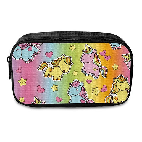 Pencil Case - Ombre Unicorns