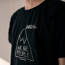 Load image into Gallery viewer, 'We are people' short T-shirt