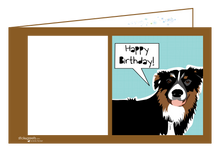 Load image into Gallery viewer, Doggy Birthday- Ginger Oliphant