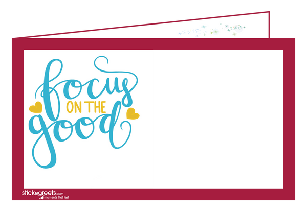 Focus on the Good-Julia Cecil