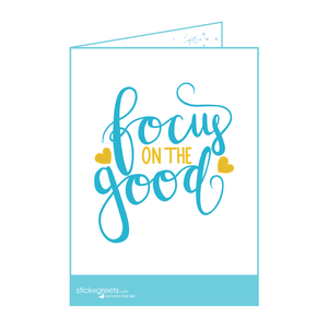 Focus on the Good-Julia Cecil- Ready to Go