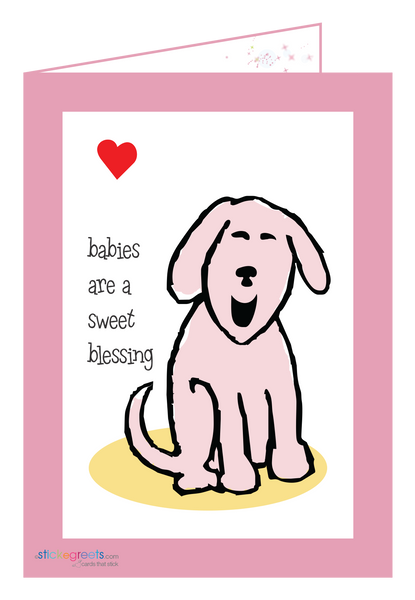 Pink Baby Blessings-Ginger Oliphant
