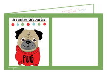 Load image into Gallery viewer, Pug Christmas-Ginger Oliphant