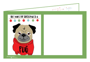 Pug Christmas-Ginger Oliphant