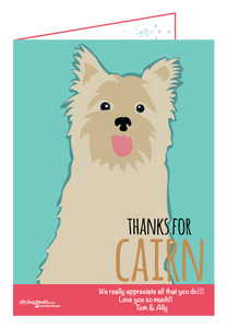 Thanks for Cairn-Ginger Oliphant