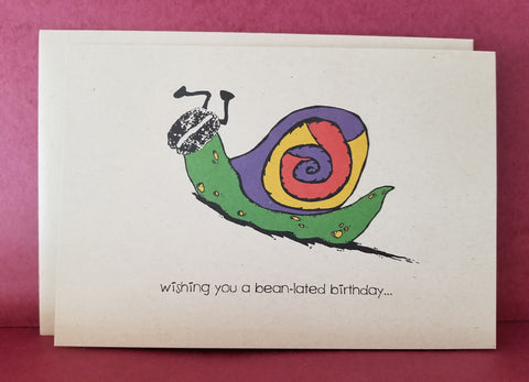 Greeting Card -- Belated Birthday