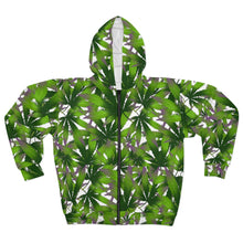 Load image into Gallery viewer, 420 All Over Print Unisex Zip Hoodie | HUSTLECANVASES