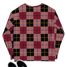 Load image into Gallery viewer, flannel print sweater sweatshirt cotton og all over print classic