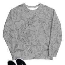 Load image into Gallery viewer, Traditional Tattoo Flash Unisex Sweatshirt | HUSTLECANVASES