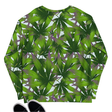 Load image into Gallery viewer, sensi stoner 420 marijuana cannabiss all over print sweatshirt sweater