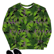 Load image into Gallery viewer, 420 All Over Print Unisex Sweatshirt | HUSTLECANVASES