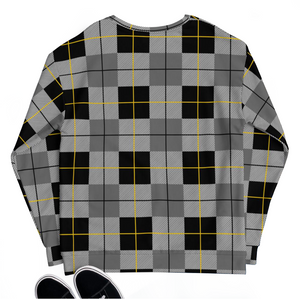 flannel print sweater sweatshirt cotton og all over print classic