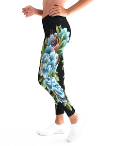 Clothing women's leggings spandex spanx yoga pant pants trending fashion tattoo traditional neo neotraditional Japanese style art design flash inked ink apparel clothing wear street wear tattooed girls