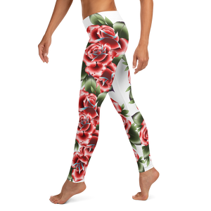 Leggings spans traditional tattoo neo neotraditional tattoos design inked girls women's wear apparel clothing bottoms custom flash art prints print trending