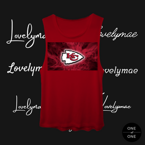 Lovely Mae KC Chiefs Tank