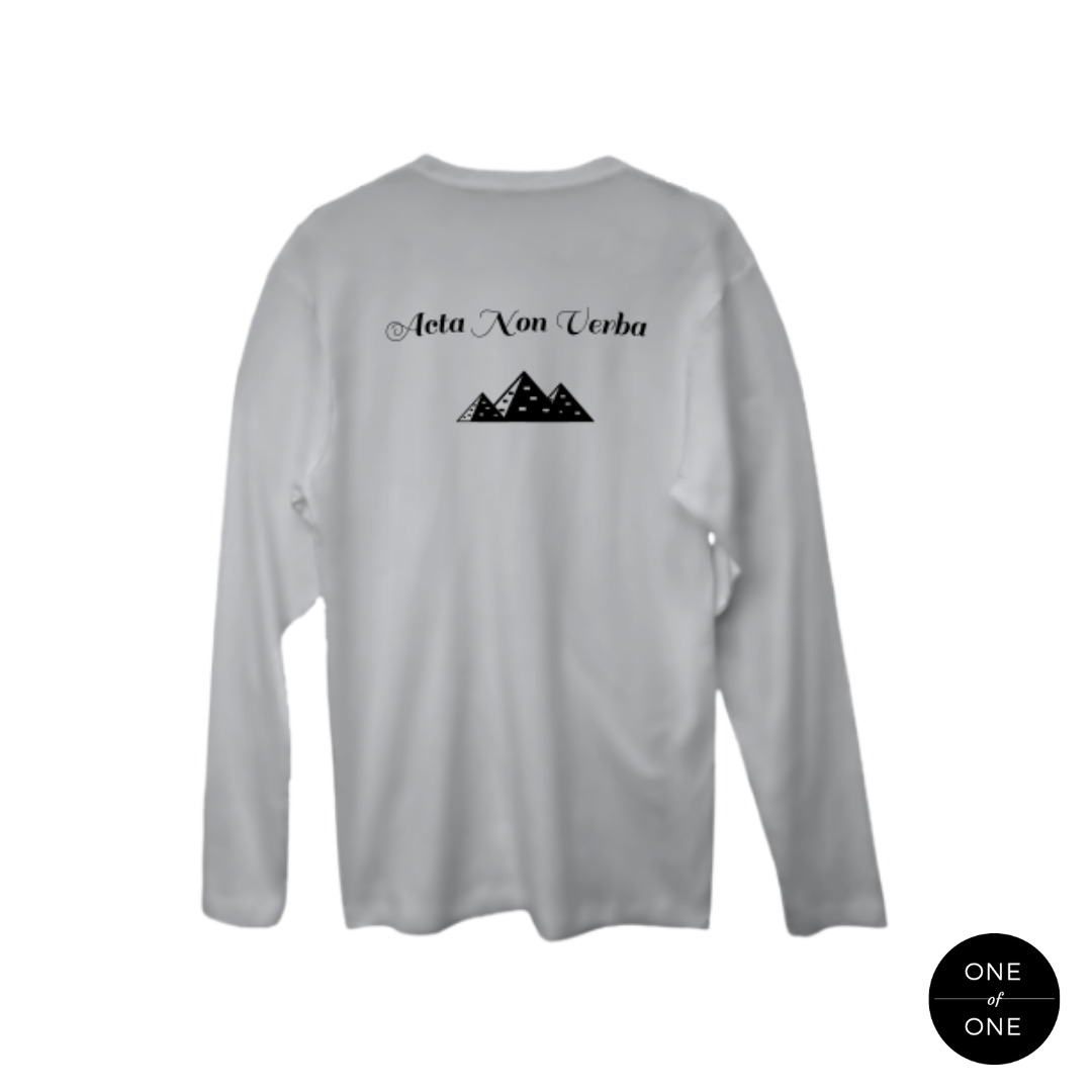 Deeds Not Words Long Sleeve