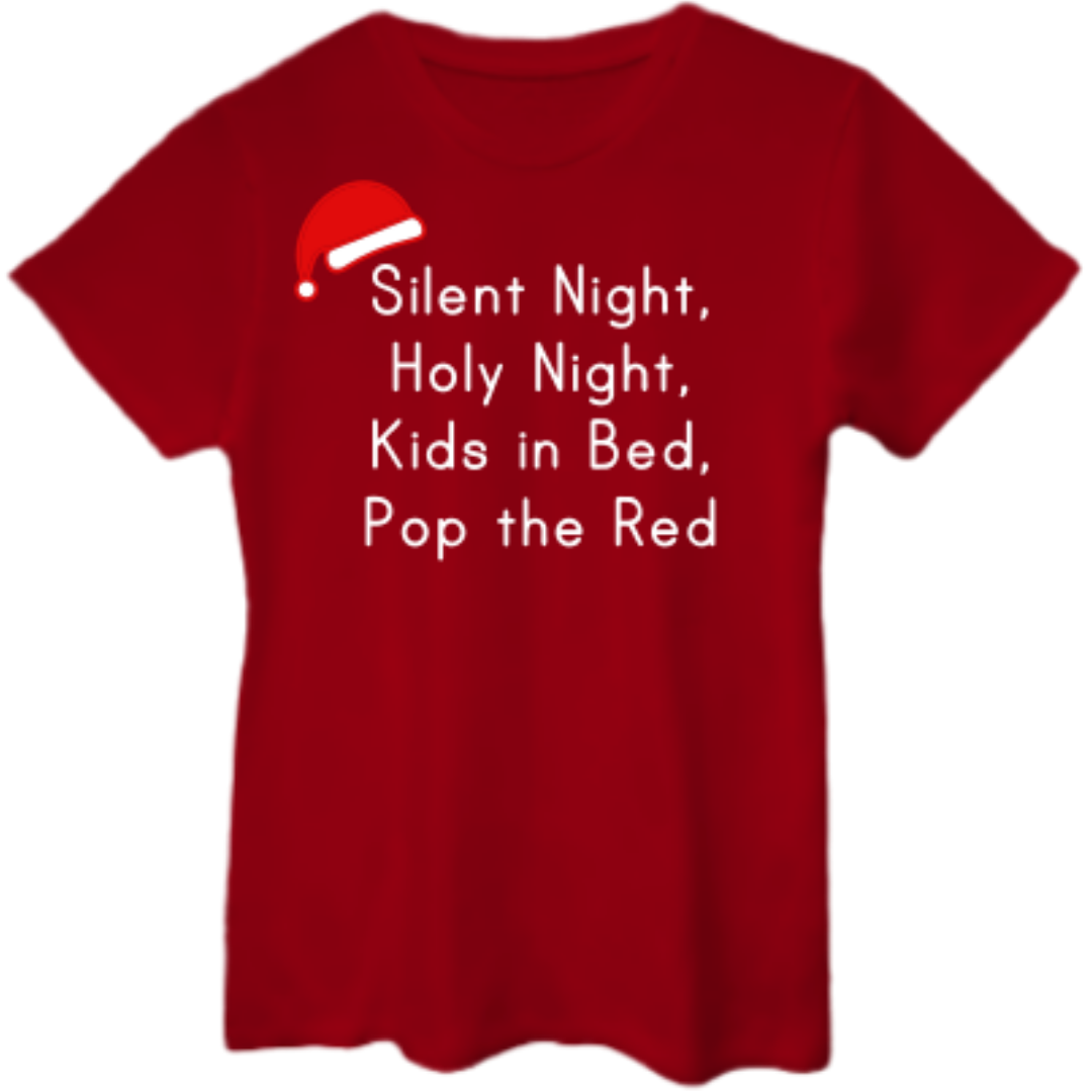 SILENT NIGHT Boyfriend Tee