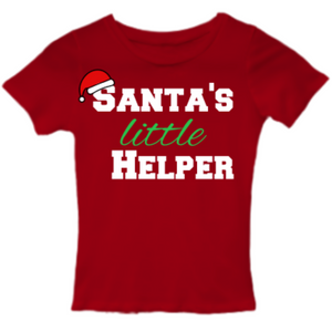 SANTA'S LITTLE HELPER Unisex Kids Tee