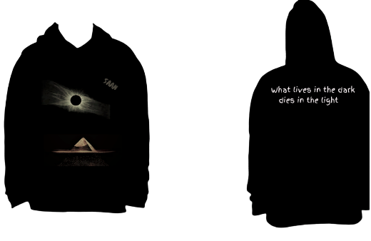 Kid's Lives In The Dark Hoodie