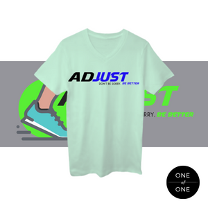 Colored Adjust V-neck