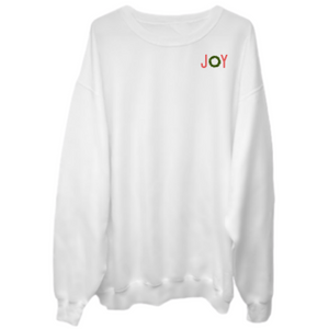 CHRISTMAS JOY Crew Neck Sweater