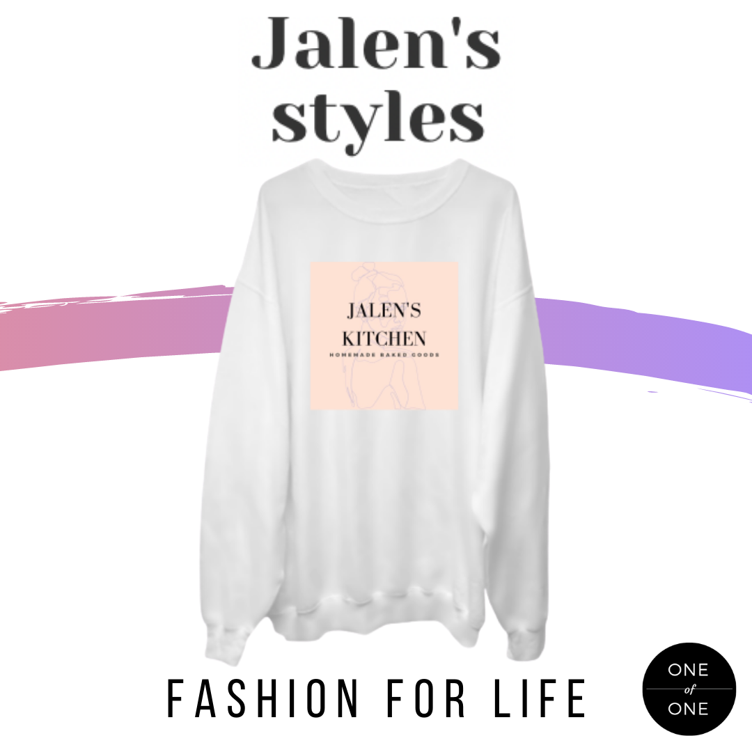 Jalen's Kitchen Crewneck Sweater