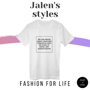 Jalen's Human Rights Tee