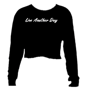 L.A.D. Women's Long Sleeve Crop Top