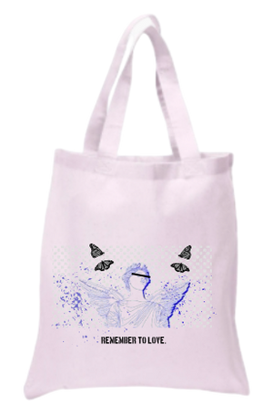 Breeze Love Tote Bag