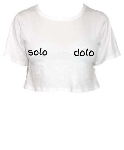 Solo Dolo Cropped Tee
