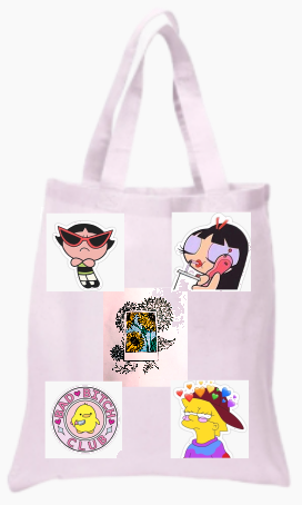 Happy Vibes Tote Bag