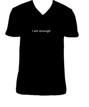 I AM ENOUGH V-Neck