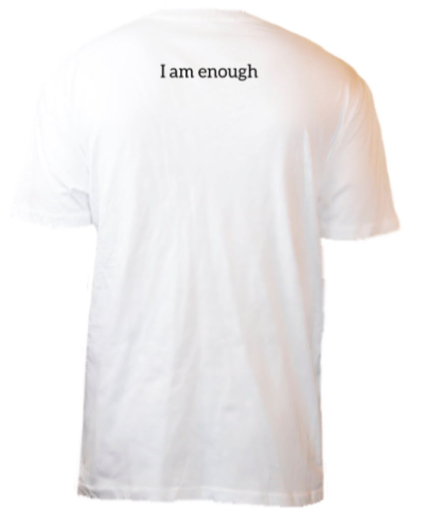 I AM ENOUGH POCKET TEE