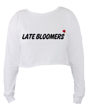 Late Bloomers Crop Sweater