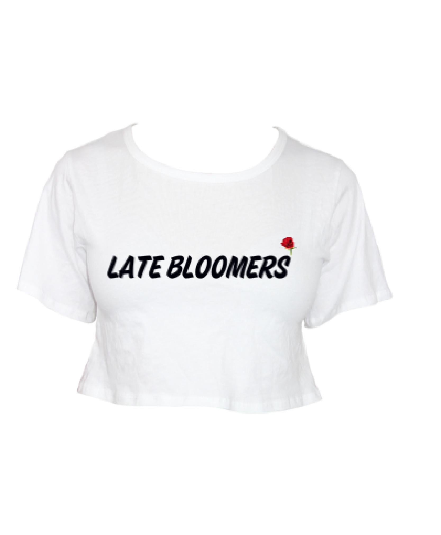 Late Bloomers Crop Tee