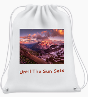Until The Sun Sets Backpack