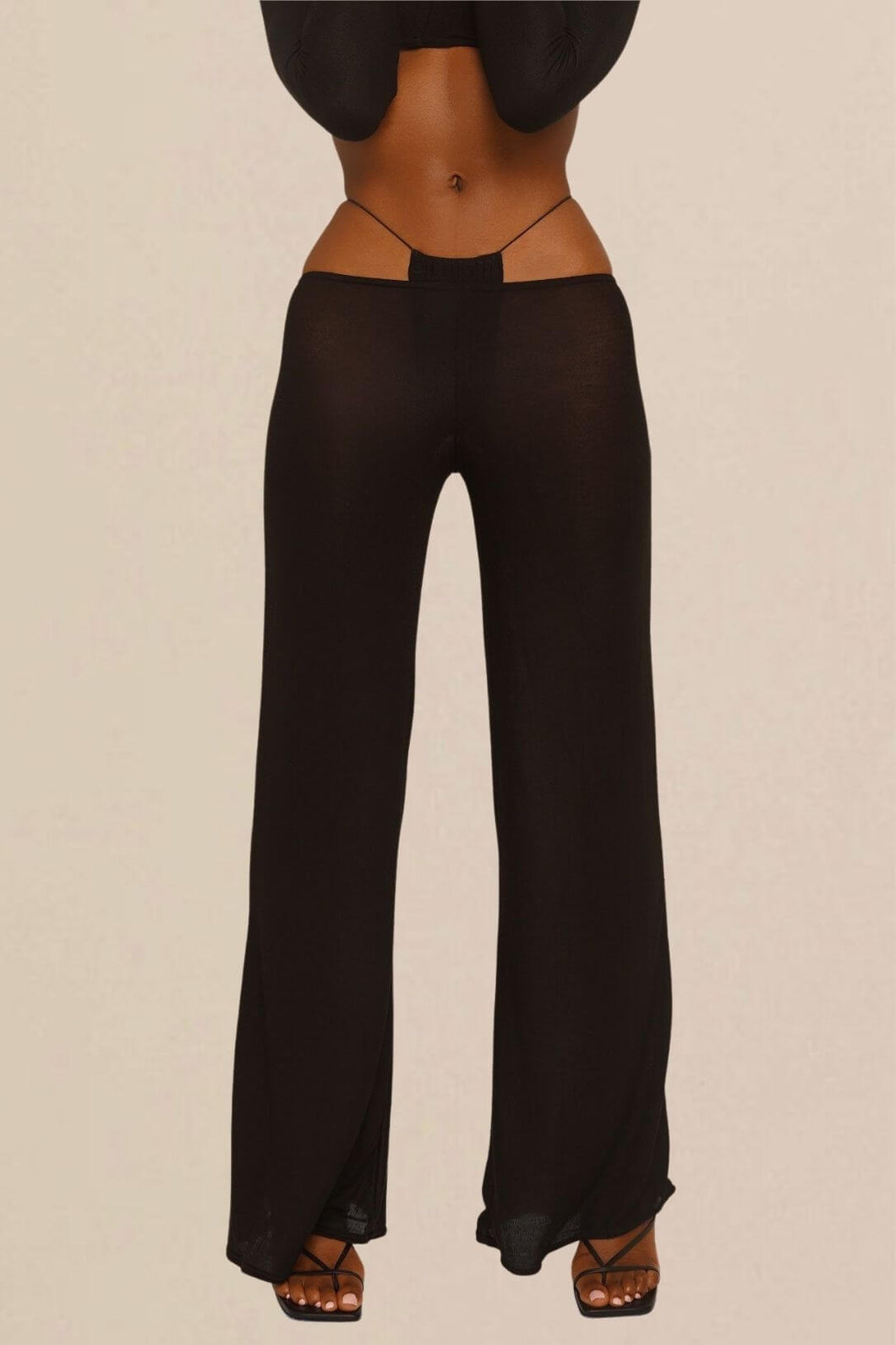 Black DEMI pants from JET NOIRE