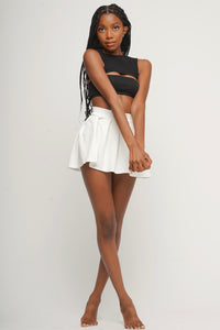 INDIE CROP TOP WITH BANDEAU BRA FROM JET NOIRE