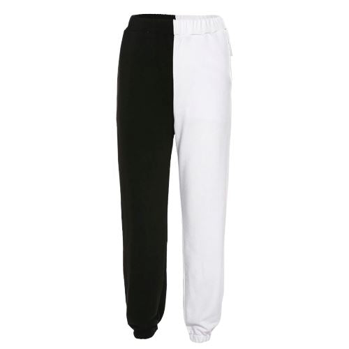 CODIE Pants Jet Noire Small White & Black