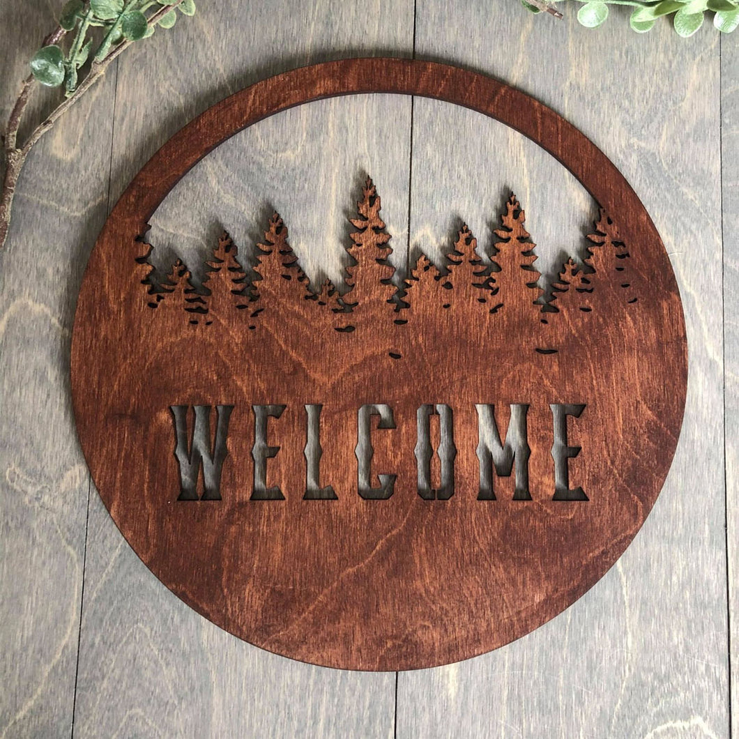 Customized Forest Sign