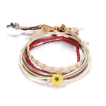 Load image into Gallery viewer, Sunflower Bracelet Set